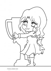 Chibi Coloring Pages Free