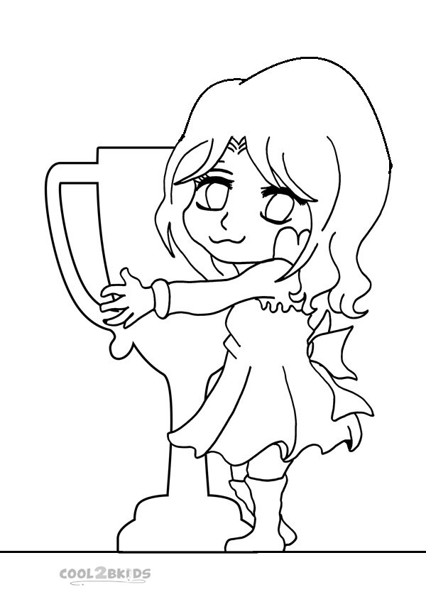 Chibi Animal Colouring Pages Page 2