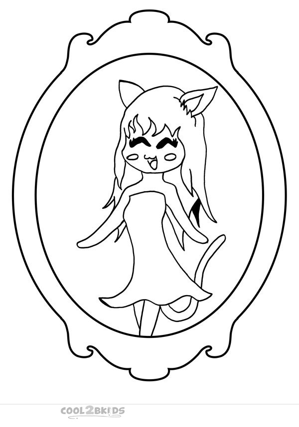 funny girl coloring pages - photo#9