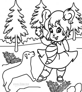 Chipettes Coloring Pages Pictures