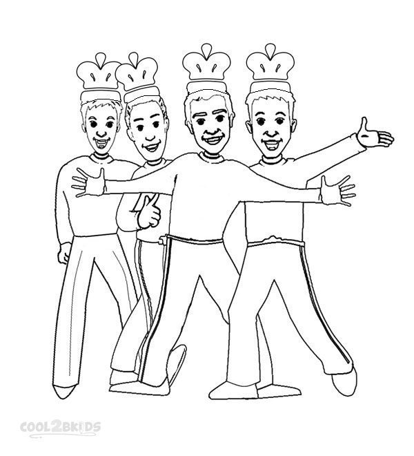 Coloring Pages of Wiggles Pictures