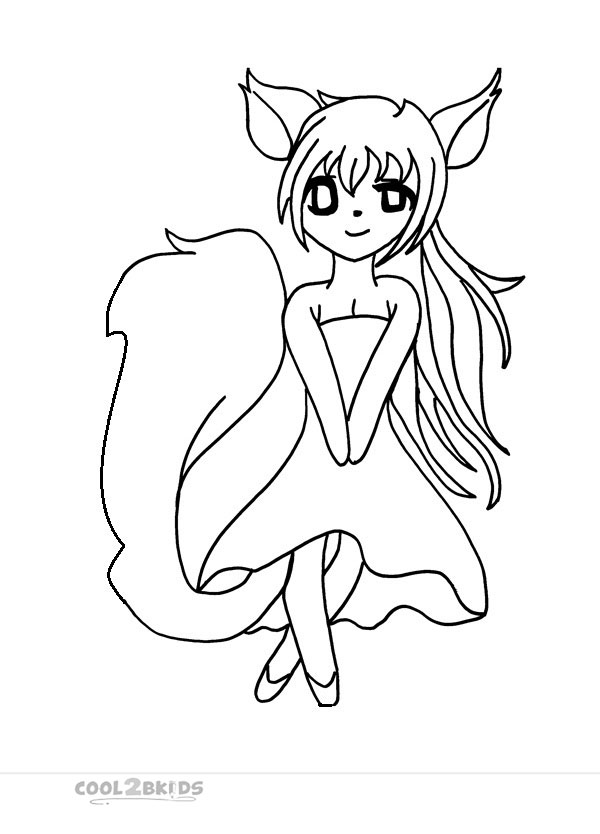 funny girl coloring pages - photo#17