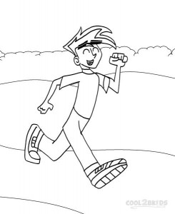 Danny Phantom Coloring Pages Printable