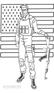 Free GI Joe Coloring Pages