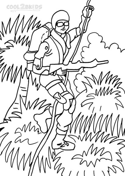 Printable GI Joe Coloring Pages For Kids