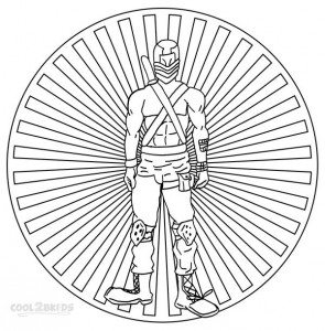 GI Joe Coloring Pages Ptintable