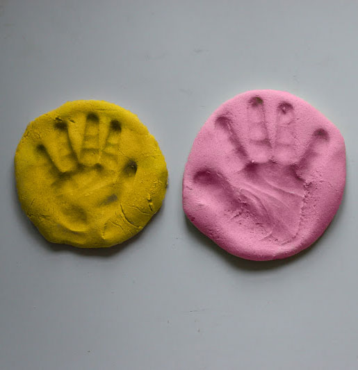 Salt Dough Handprints Photos