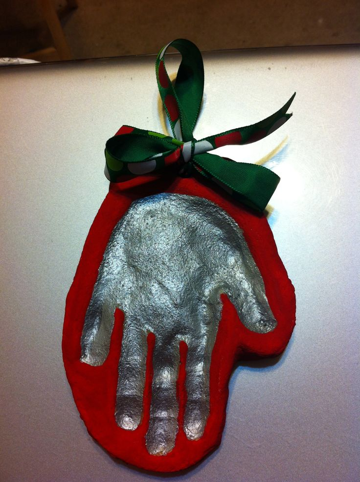 Salt Dough Handprints Pictures