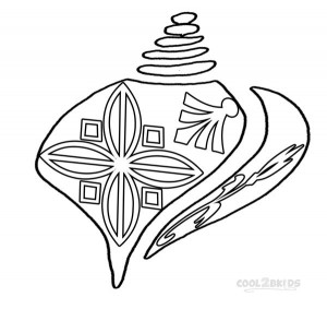 Seashell Coloring Pages Pictures