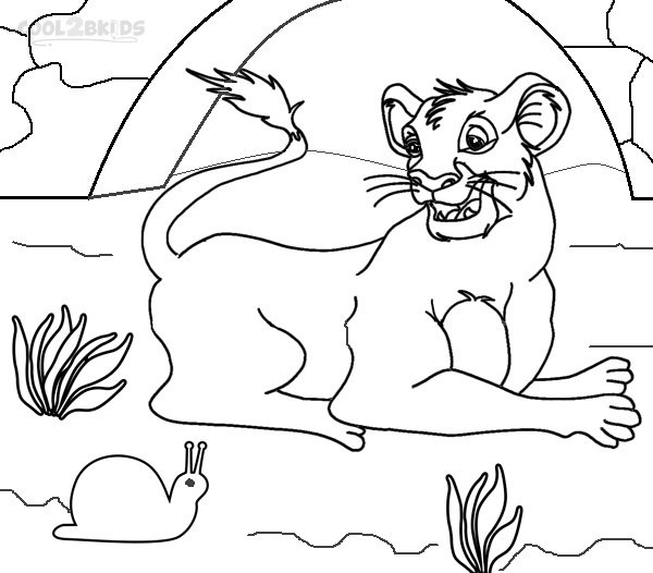 Simba Coloring Pages To Print