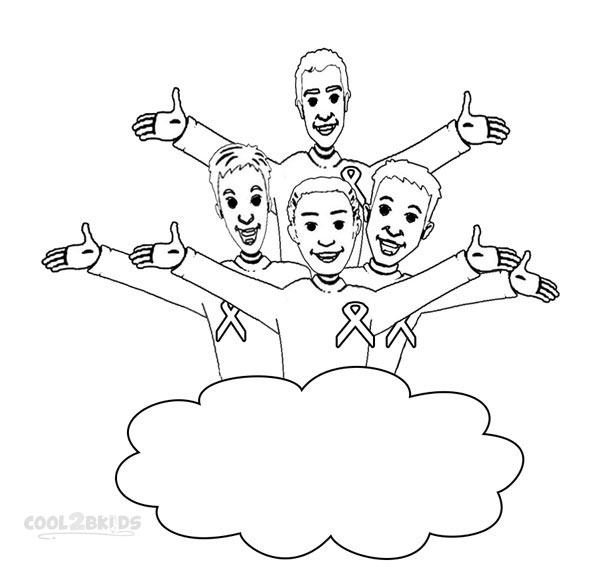 wiggles coloring page - printable wiggles coloring pages for kids cool2bkids