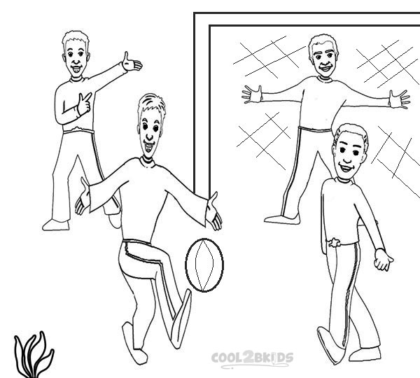 Images of Wiggles Coloring Pages Printable