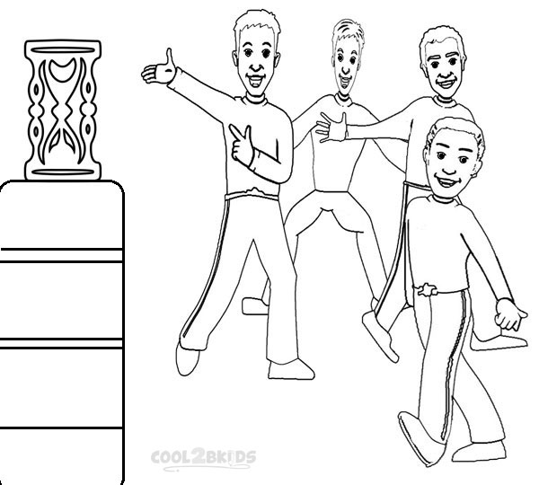 Photos of Wiggles Coloring Pages To Print