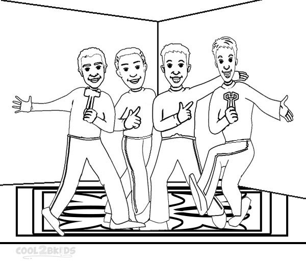 Picture of Wiggles Coloring Pages