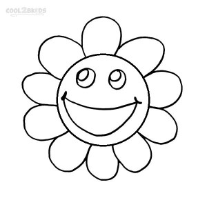 Coloring Pages of Smiley Faces