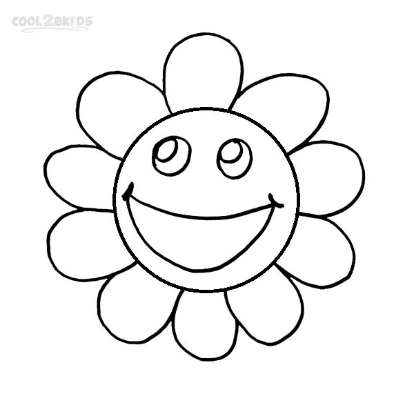 coloring smiley face pages - photo#16