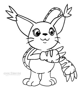 Digimon Coloring Pages Printable