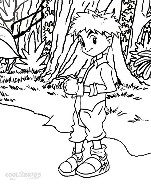free digimon coloring pages - Digimon Coloring Pages