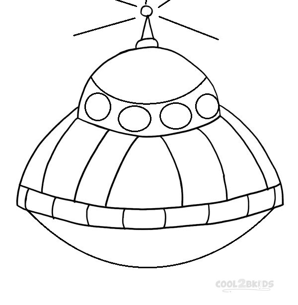 Printable Spaceship Coloring Pages For Kids | Cool2bKids