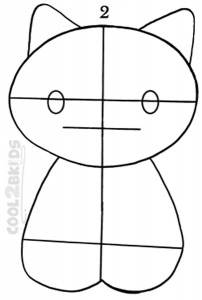 How To Draw Hello Kitty Step 2