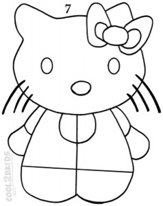 How To Draw Hello Kitty Step 7