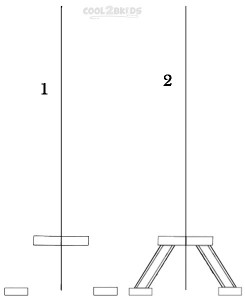 How To Draw The Eiffel Tower Step 1