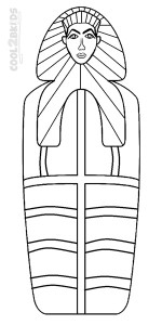 Images Mummy Coloring Pages For Kids
