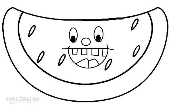 Printable Smiley Face Coloring Page For Kids