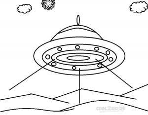 Printable Spaceship Coloring Pages Images