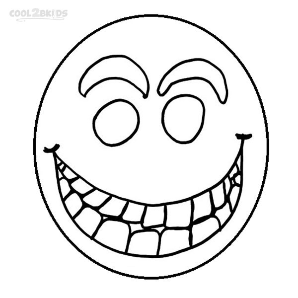 Printable Smiley Face Coloring Pages For Kids | Cool2bKids