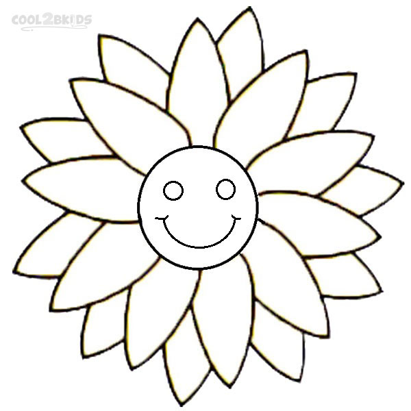 coloring smiley face pages - photo#25