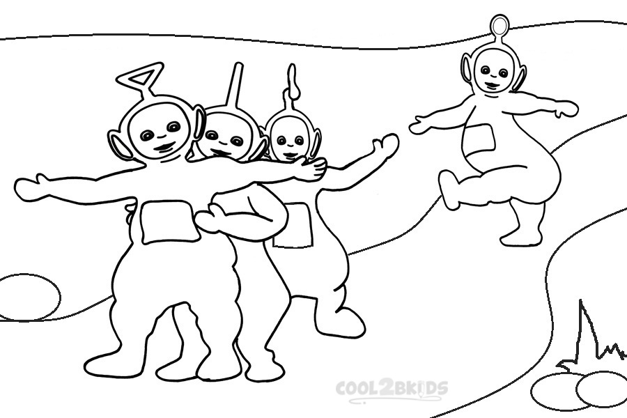 teletubbie coloring pages - photo#33