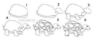 Draw a Turtle Step by Step