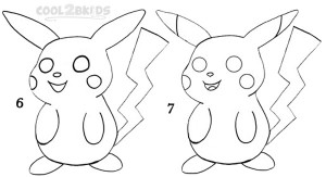 How To Draw Pikachu Step 3