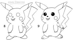 How To Draw Pikachu Step 4