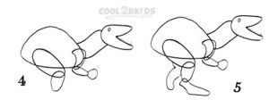 How To Draw a Dinosaur Step 2