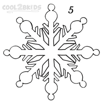 How To Draw A Snowflake Step By Step Pictures Cool2bkids