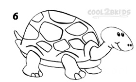 How To Draw a Turtle Step 6