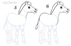 How To Draw a Zebra Step 3