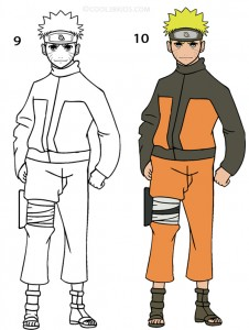 How To Draw Naruto Step 5