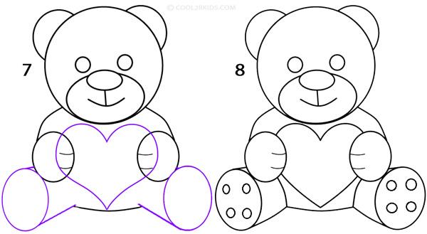 Как нарисовать медвежонка на открытку по частям, эрика сабо китайские