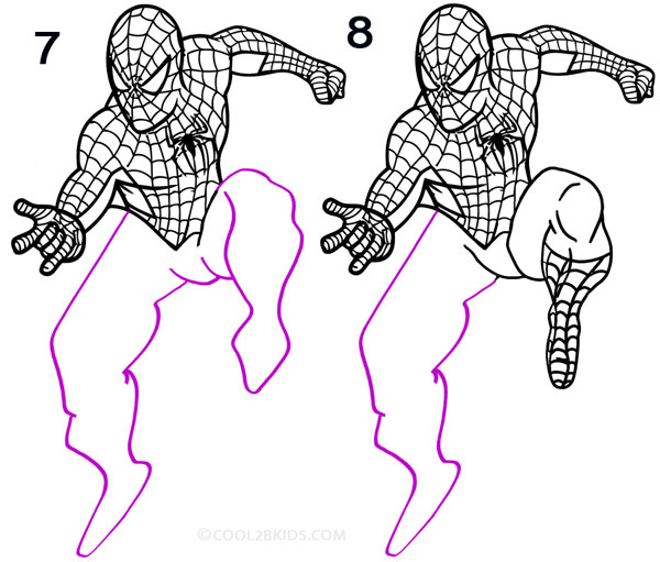 How to draw black spiderman black spiderman step 3 apps directories
