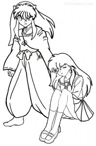 Photos of Printable Inuyasha Coloring Page