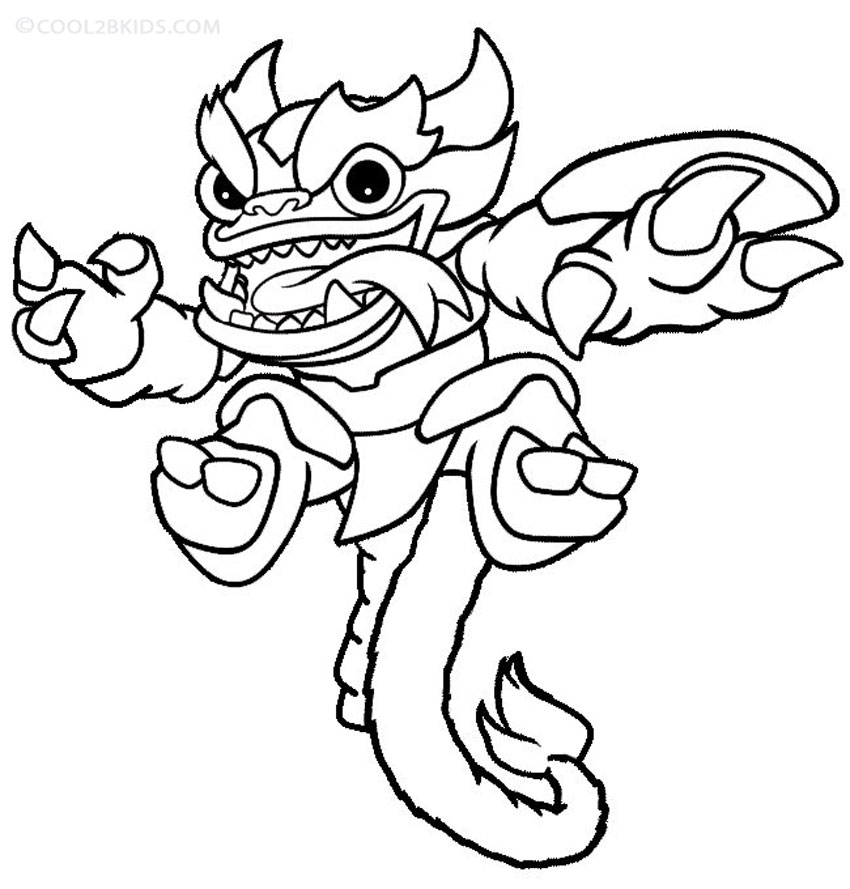 Best Skylander Coloring Pages Print Images - New Coloring Pages ...