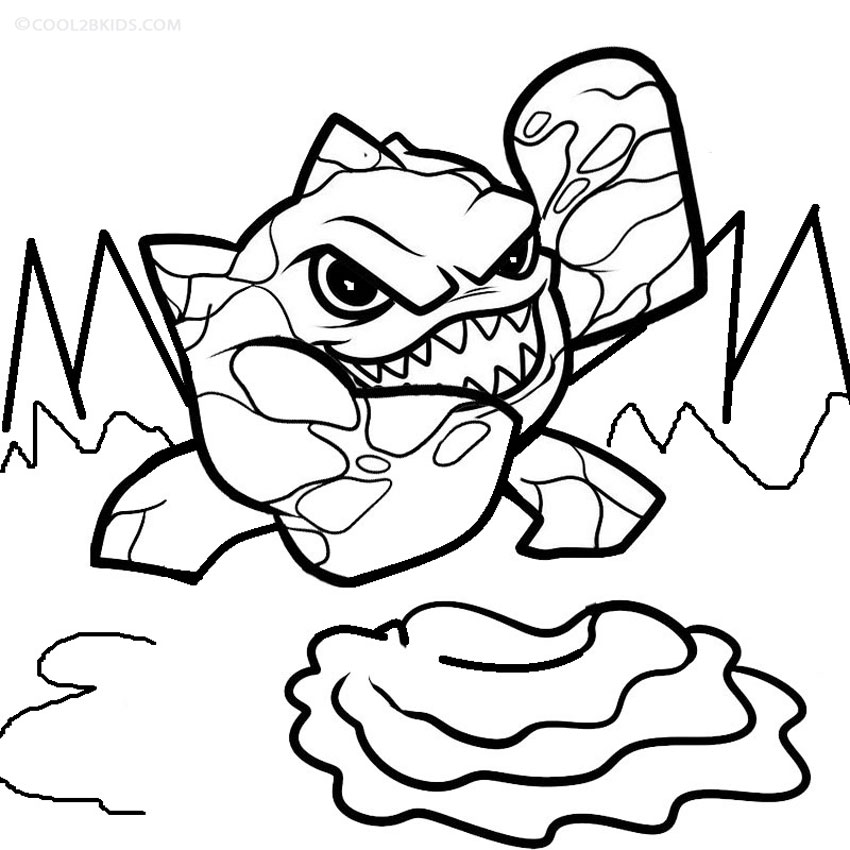 Printable Skylander Giants Coloring Pages For Kids Cool2bKids