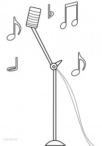Free Music Note Coloring Pages