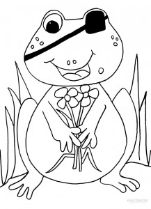 Free Toad Coloring Pages