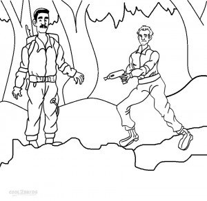 Ghostbusters Coloring Pages Pictures