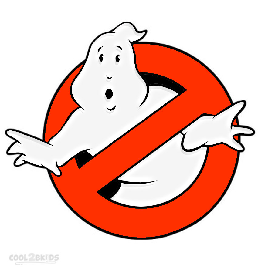 Versatile image with ghostbusters logo printable