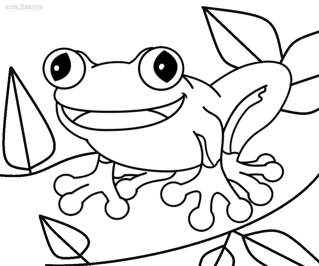 Printable Toad Coloring Pages For Kids Cool2bKids